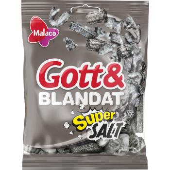 Gott & Blandat Supersalt 130g